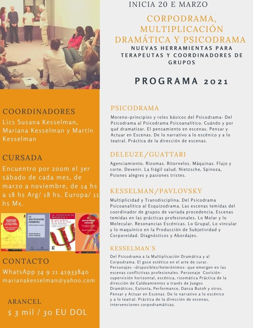 Programa Corpodrama 2021